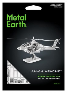 Metal Earth Helikopter AH-64 Apache