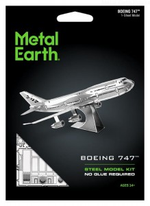 Metal Earth Samolot Boeing 747 Commercial Jet