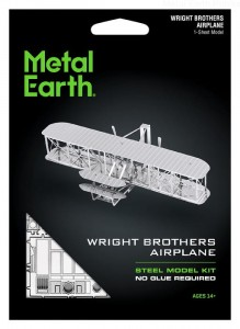 Metal Earth Samolot Braci Wright