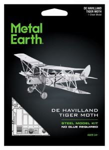Metal Earth Samolot De Haviland Tiger Moth