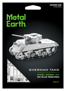 Metal Earth Czołg Sherman