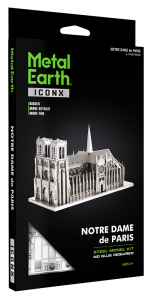 Metal Earth Notre Dame - ICONX