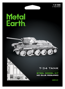 Metal Earth Czołg T-34