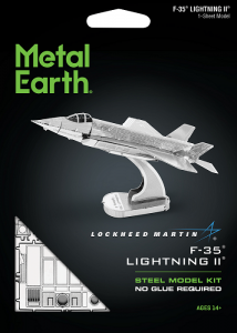 Metal Earth Myśliwiec F35 Lightning II