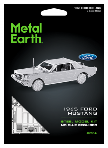 Metal Earth Ford Mustang 1965 Coupe