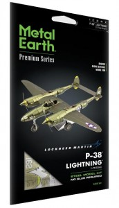 Metal Earth P-38 Lightning